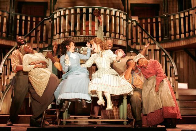 """Un momento de la representación de """"Show Boat"""" por la Goodspeed Opera House"""