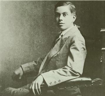 Cole Porter es su época de estudiante