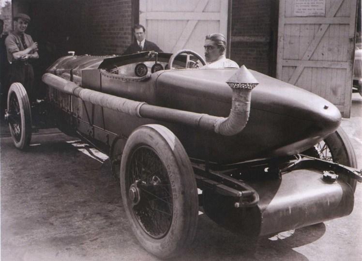 "El coche que inspiró a Ian Fleming para escribir la novela ""Chitty-Chitty-Bang-Bang: The Magical Car"""
