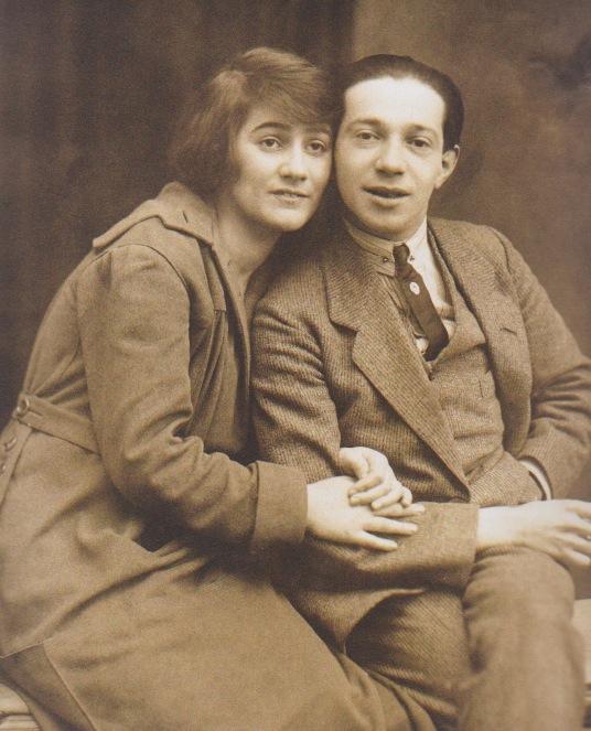 Friedrich Hollaender y su esposa, Blandine Ebinger
