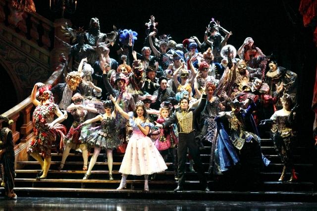 """Un momento de la representación en 2012 en Broadway de """"El fantasma de la Ópera"""""""