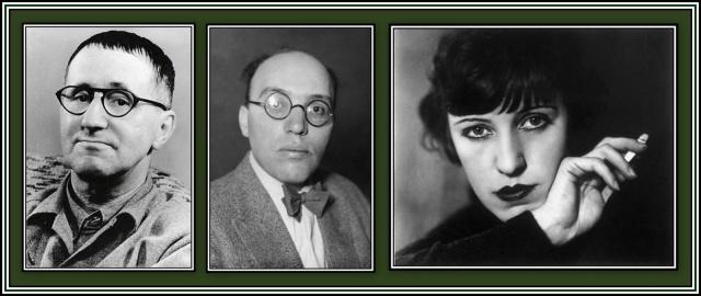 Brecht, Weill, Lenya
