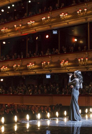 Un momento de la ceremonia de los Olivier Awards de 2013