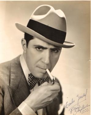 Carlos Gardel en París (1933)