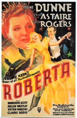 """Cartel publicitario de la película """"Roberta"""""""