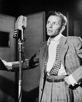 Frank Sinatra en el Liederkranz de Nueva York (ca. 1947)