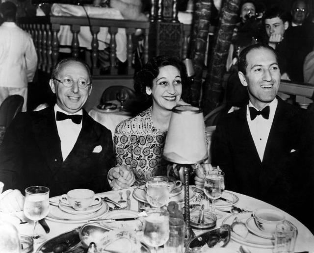 Jerome Kern, Dorothy Fields y George Gershwin a mediados de la década de 1930