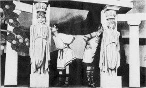 """Representación en Londres de """"Phi-Phi"""" en 1922"""