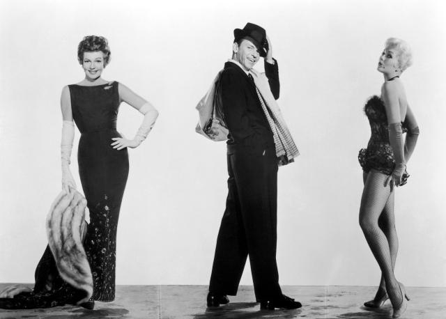 """Rita Hayworth, Frank Sinatra y Kim Novak en """"Pal Joey"""" (1957)"""