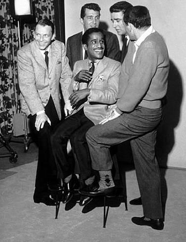 Frank Sinatra, Dean Martin, Sammy Davis Jr., Peter Lawford y Joey Bishop