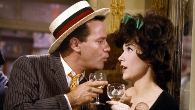 Jack Lemmon y Shirley MacLaine