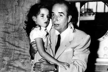 Vincente Minnelli con su hija Liza