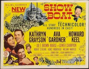 """Poster de la versión cinematográfica de """"Show Boat"""" de 1951"""