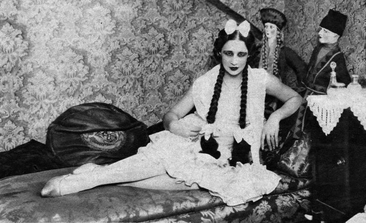 Celia Gámez en 1929