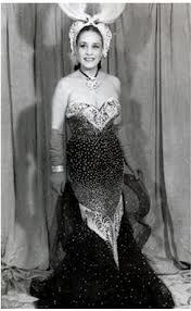 Celia Gámez en 1943