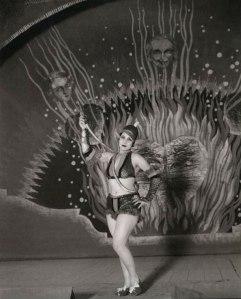 Celia Gámez en el Teatro Pavón (1933)