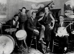 Duke Ellington y su banda sobre 1920