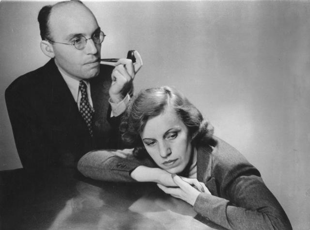 Kurt Weill y Lotte Lenya en Nueva York