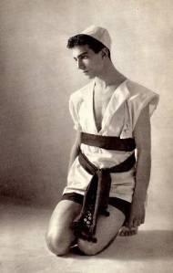 Léonide Massine en 1914