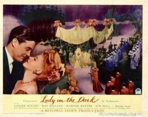 """Afiche de """"Lady in the Dark"""""""