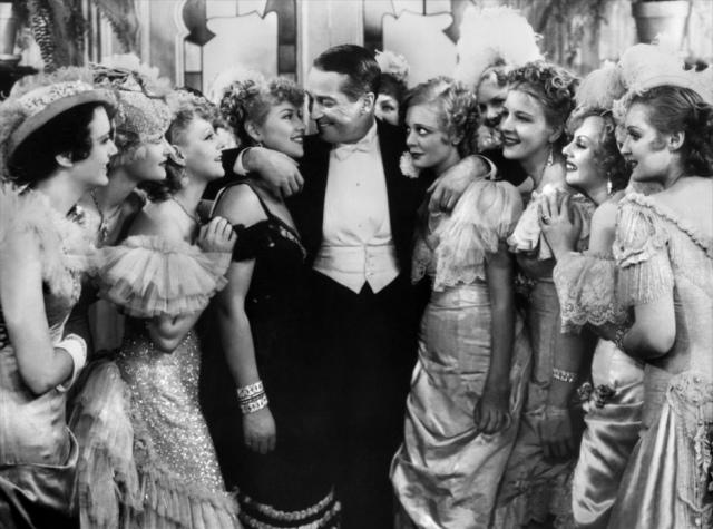 """Maurice Chevalier en """"La viuda alegre"""""""