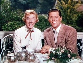 "Doris Day y Gordon MacRae en ""Té para dos"""
