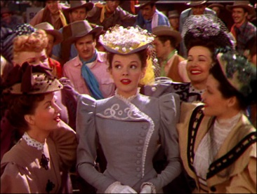 "Judy Garland en ""The Harvey Girls"""