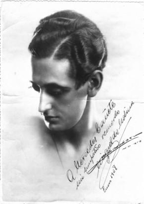 Miguel de Molina en 1938