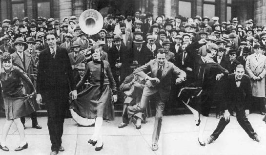 Competición de charlestón en Saint Louis (1925)