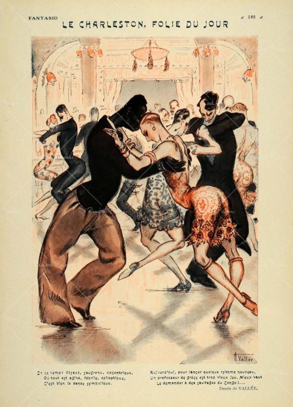 """Ilustración de la revista francesa """"Fantasio"""" de 1926."""