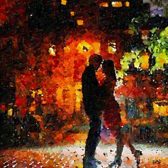 """See you Tomorrow my Love"", óleo de Miki Fortuna"