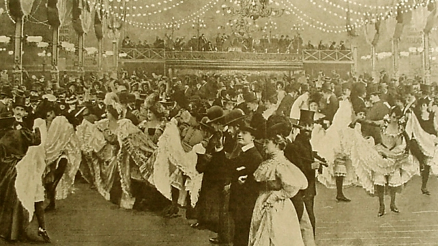 El Moulin Rouge en 1898