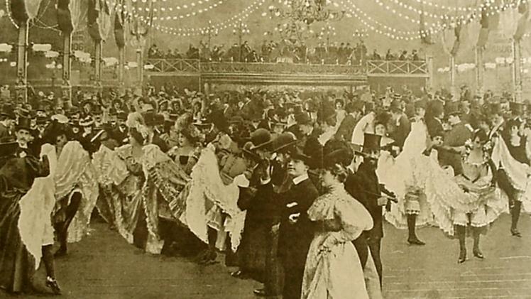 El Moulin Rouge en 1898