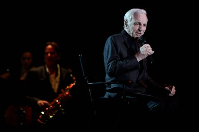 Amneville Galaxie   Charles AZNAVOUR