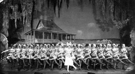 """Ruth Etting en el estreno de """"Ziegfeld Follies of 1927"""""""