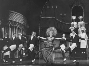 """Carol Channing en el estreno de """"Hello Dolly!"""""""
