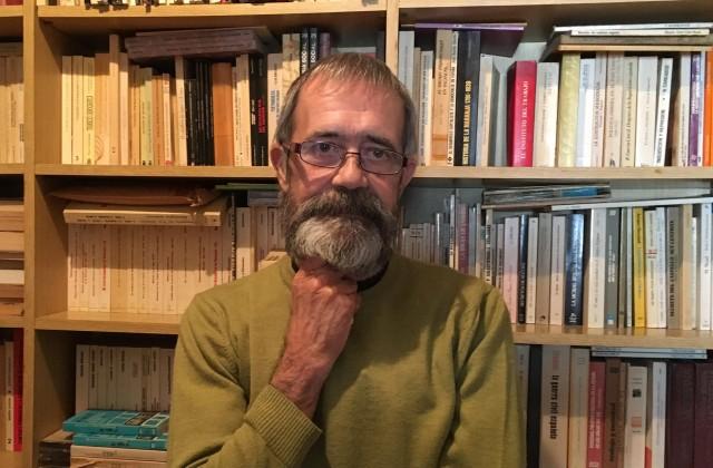 Manuel Cerdà en su casa. 2017. (2)