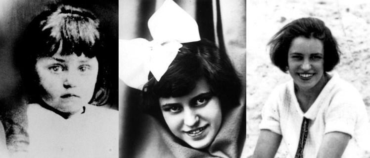 Lotte Lenya en Viena (circa 1902) / Lotte Lenya en Zúrich (circa 1914) / Lotte Lenya en Berlín (circa 1923) © 2012 The Kurt Weill Foundation for Music