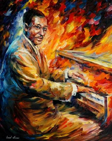 Duke Ellington por Leonid Afrémov