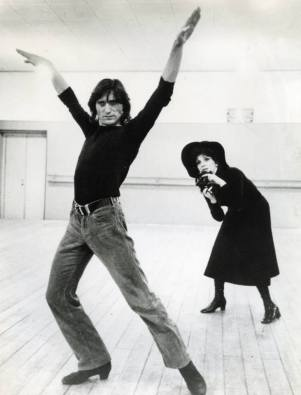 Antonio Gades y Gina Lollobrigida. Fundación Antonio Gades