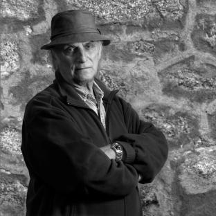Carlos Saura. Fotografía de Jorge Ontalba.