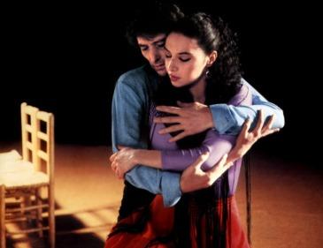 """Antonio Gades y Laura del Sol en """"Carmen""""."""