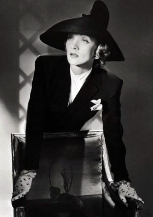 Marlene Dietrich en Nueva York (1942).