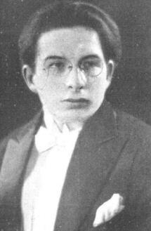 Xavier Cugat en 1924.