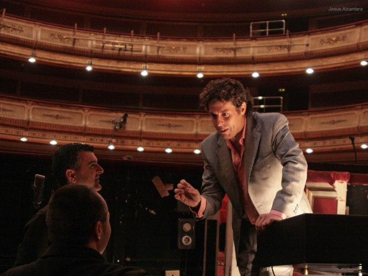 Cristóbal Soler en el Teatro de la Zarzuela