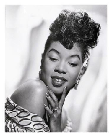 Sarah Vaughan en 1944 (Bettmann Archive)