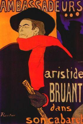 """""""Aristide Bruant en su cabaret"""" (1892)"""