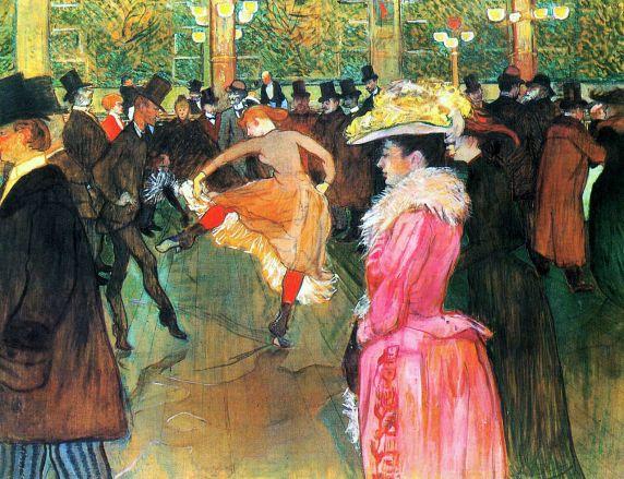 """""""En el Moulin Rouge: el baile"""" (1890)"""
