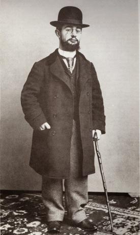 Toulouse-Lautrec en 1892.