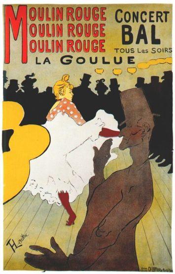 Moulin rouge - La Goulue (1891)